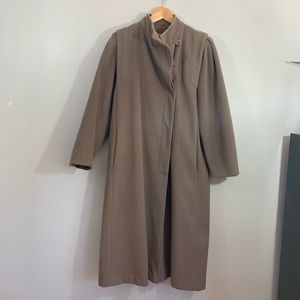 Vintage Braeton Long Pea Coat